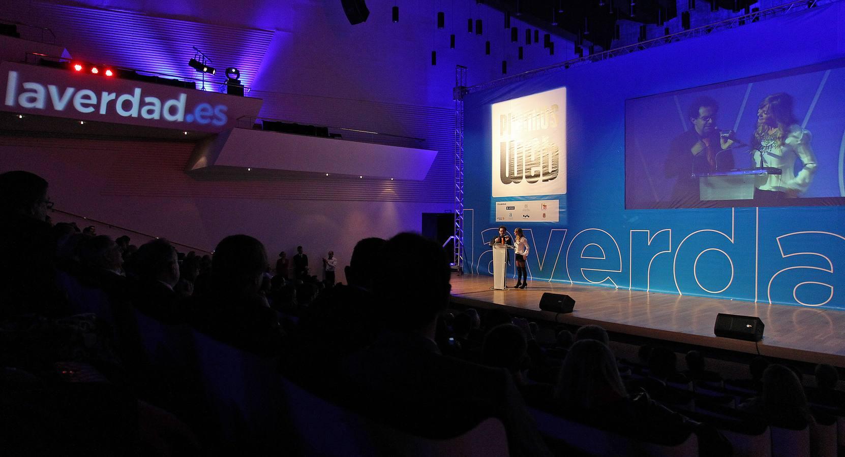 Gala de entrega de los Premios Web de La Verdad de Alicante/ FOTO: ALEX DOMINGUEZ