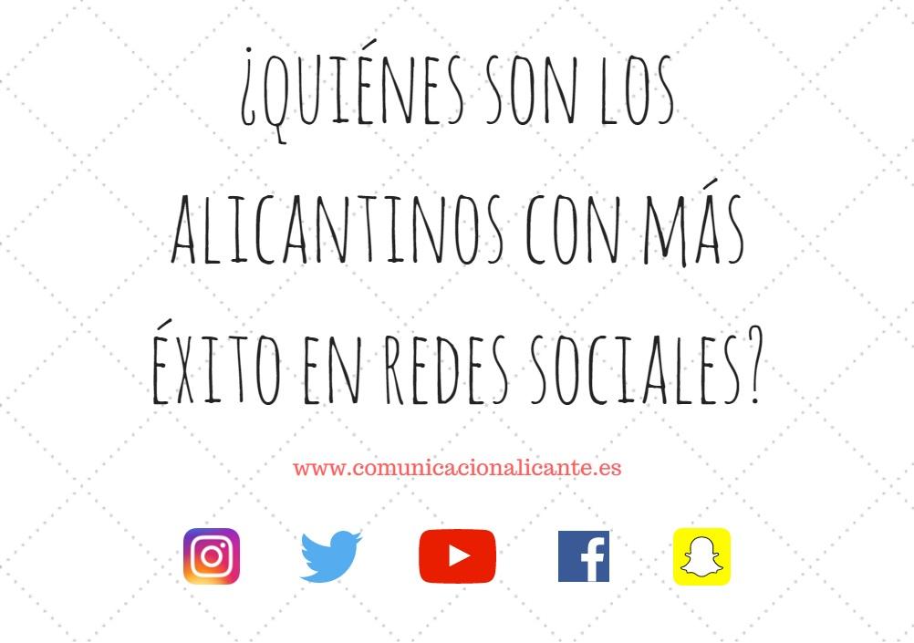 Hay muchos influencers de Alicante que se ganan la vida profesionalmente en internet y las redes sociales.