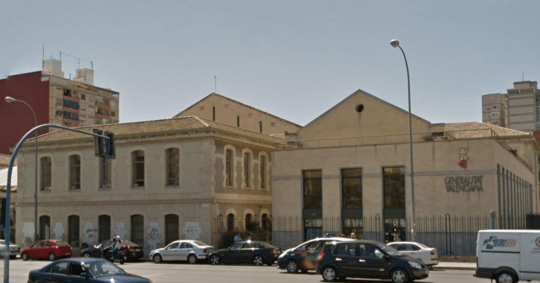 Juzgados de Benalúa en Alicante, antiguos terrenos de la cárcel de José Antonio