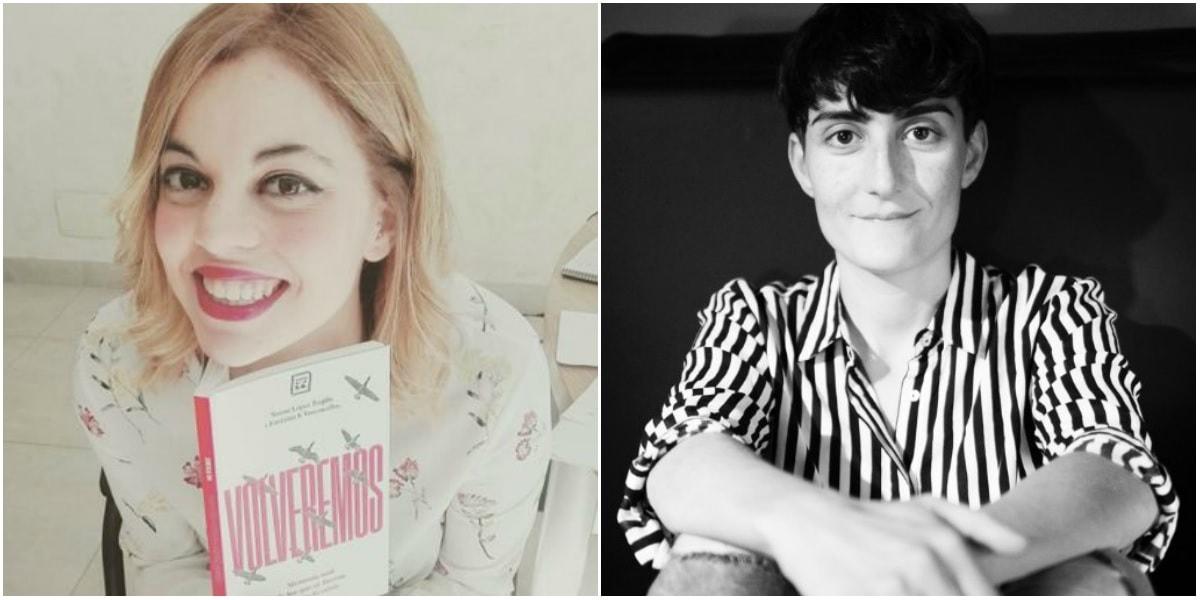 Noemí López Trujillo y Estefanía Sánchez-Vasconcellos son las autoras de Volveremos
