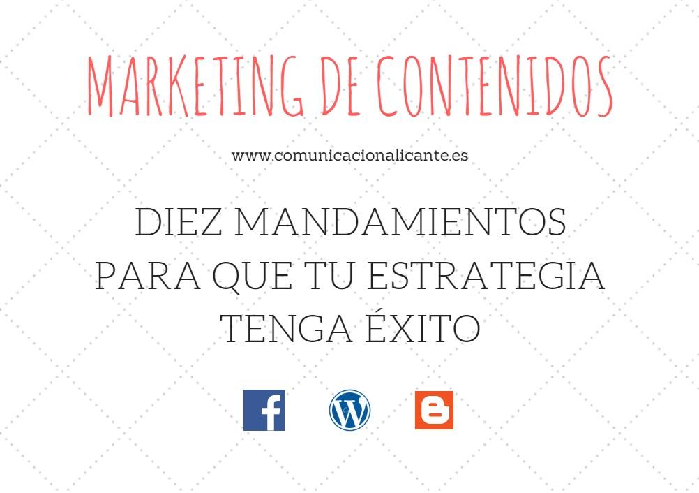 El marketing de contenidos puede tener éxito si sabemos qué pautas debemos seguir.