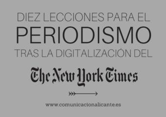 Diez lecciones para el periodismo tras la digitalización del New York Times