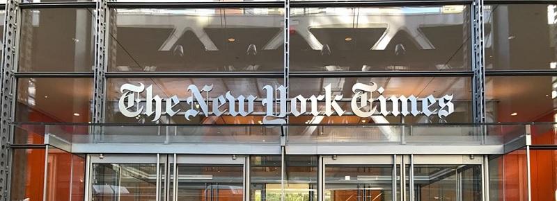 La digitalización del New York Times empieza y acaba en su cuartel general de la octava avenida.