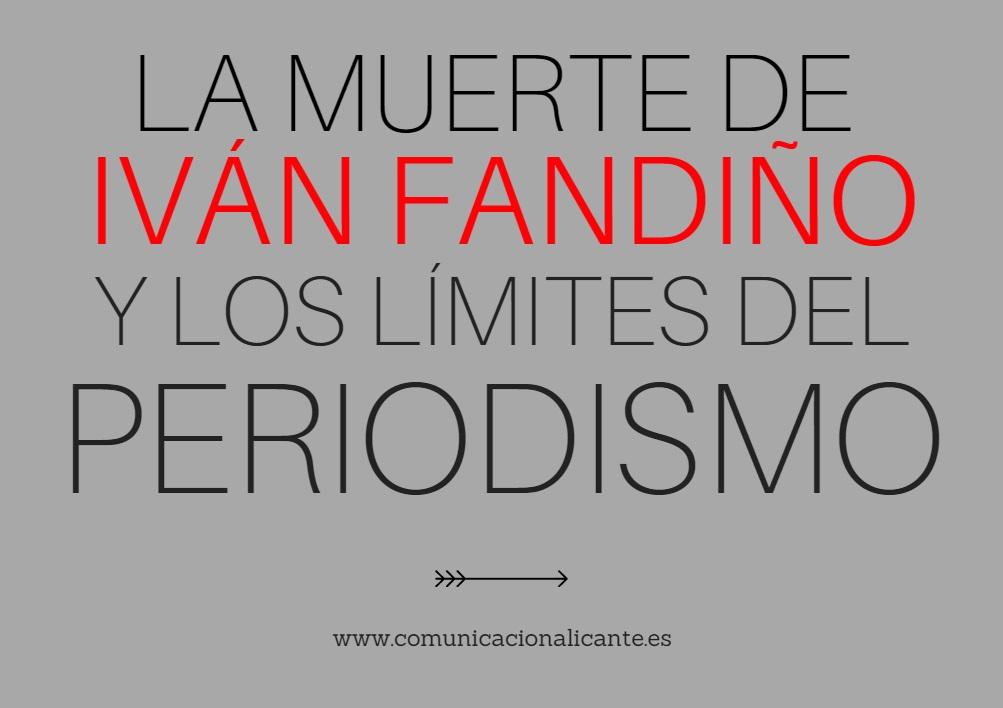 El debate periodístico generado por la muerte de Iván Fandiño, en el blog de ComunicAlicante
