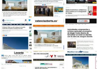 El resort en Gandia dedicado a Sorolla cautiva al público y la prensa