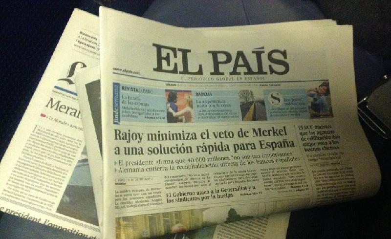 El País y Amazon han firmado un acuerdo por el que los lectores pueden comprar y recibir el periódico impreso en casa.