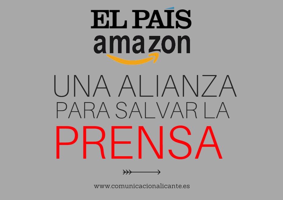 El País y Amazon tienen un acuerdo que aspira a salvar la prensa, pero por el camino está planteando nuevas dudas