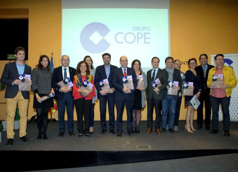COPE Alicante, presentación de su Anuario 2016 en el MARQ