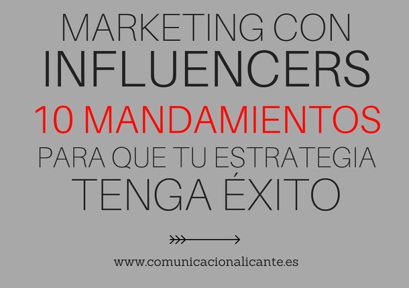 El marketing con influencers no sirve de gran cosa si se hace a la ligera y sin unas nociones fundamentales.