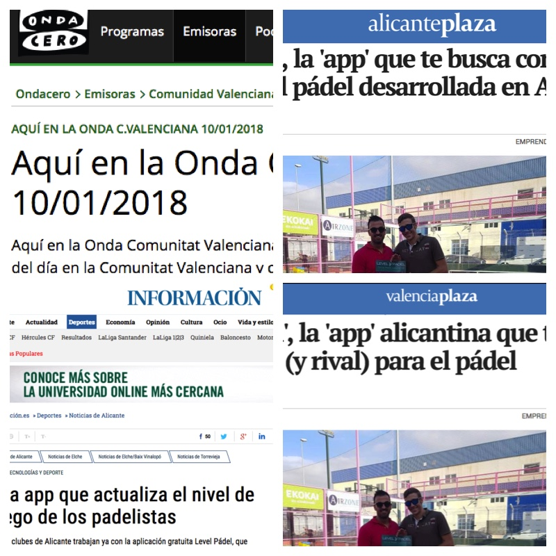 Level Padel, en la prensa