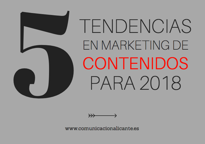 Tendencias en marketing de contenidos