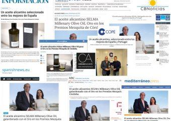 Premios y comunicación corporativa: el caso SELMA Olive Oil