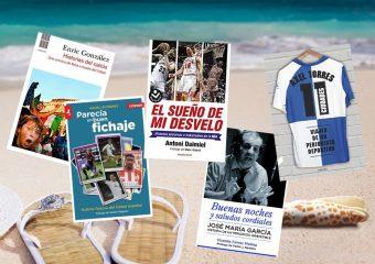 Cinco libros de periodismo deportivo para leer en verano