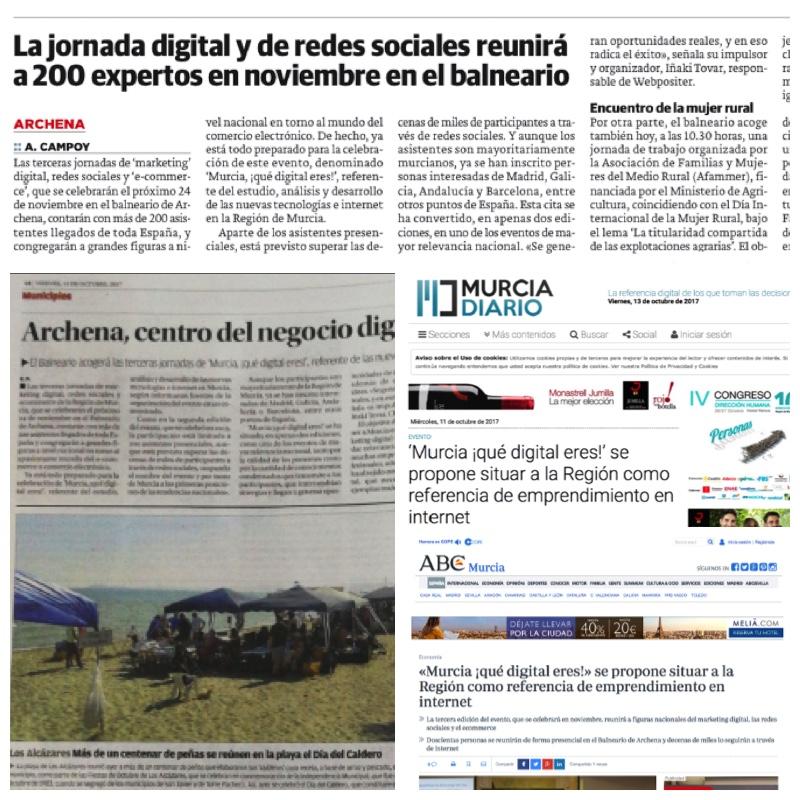 El evento 'Murcia, ¡qué digital eres!' ha sido ampliamente recogido por los medios de comunicación